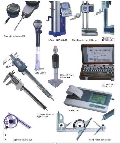 Electrical Measuring Instruments : Bore gauge part calibration